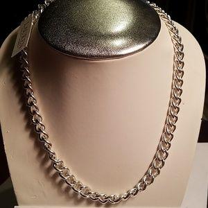 Lauren Ralph Lauren silvertone chain link necklace